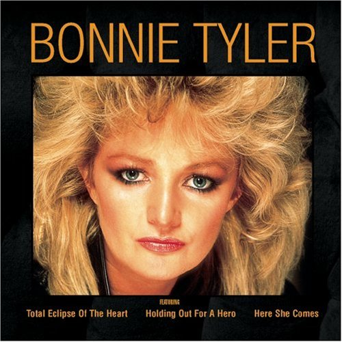 Bonnie Tyler as she looked in the eighties